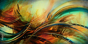 Uplifting Painting Prints - Flight Print by Michael Lang