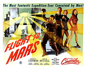 1951 Movies Photos - Flight To Mars, 1951 by Everett