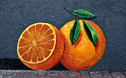 Orange. Prints - Florida Orange Print by David Lee Thompson