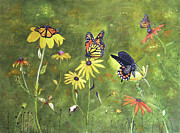 Donna Wiegand - Flowers and Butterflies