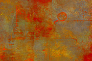 Iron Oxide Paintings - Fluorescent Rust by Christopher Gaston