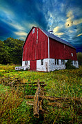 Environement Posters - Fly Over Country Poster by Phil Koch