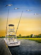 Ocean Isle Prints - Follow Me Print by Shirley Braithwaite Hunt
