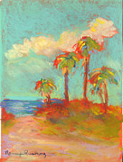 Sand Dunes Pastels - Folly Beach Hot Stuff by Nancy w Rushing