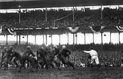 Crowd Photo Framed Prints - Football Game, 1925 Framed Print by Granger
