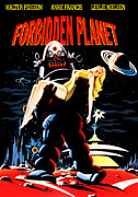 Francis Metal Prints - Forbidden Planet, Robby The Robot Metal Print by Everett