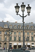 Foreshortening Posters - Foreshortening of Place Vendome Poster by Fabrizio Ruggeri