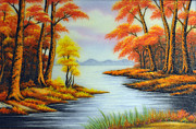 Gifts Originals - Forest in Autumn by Created by handicap artists