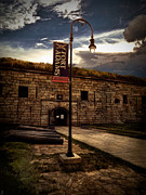 New England Ocean Digital Art Posters - Fort Adams State Park Poster by Lourry Legarde