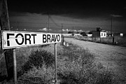 Bravo Prints - fort bravo former british military base now in the UN buffer zone in the green line dividing cyprus Print by Joe Fox