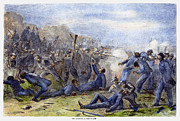 General Forrest Prints - Fort Pillow Massacre, 1864 Print by Granger