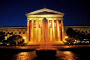 Philadelphia Photo Prints - Fountain of Art Print by Andrew Dinh