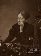 Women Suffrage Framed Prints - Frances Willard, American Reformer Framed Print by Photo Researchers