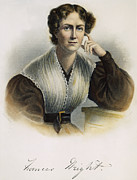 Abolition Metal Prints - Frances Wright (1795-1852) Metal Print by Granger