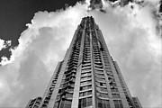 Frank Gehry High Rise Lower Manhattan Print by Robert Ullmann