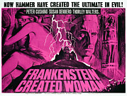 1960s Poster Art Posters - Frankenstein Created Woman, Peter Poster by Everett