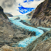 Josef Photos - Franz Josef glacier by MotHaiBaPhoto Prints