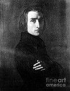 Greatest Of All Time Metal Prints - Franz Liszt, Hungarian Composer Metal Print by Omikron