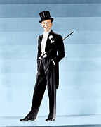Lapel Framed Prints - Fred Astaire, Ca. 1930s Framed Print by Everett