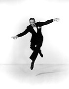Lapel Framed Prints - Fred Astaire Framed Print by Everett