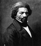 Abolition Movement Metal Prints - Frederick Douglass Metal Print by Granger