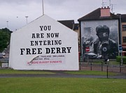 Free Paintings - Free Derry. by Gary Boyle