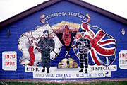 Loyalist Prints - Freedom Corner Mural Print by Thomas R Fletcher