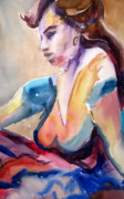 Liberty Paintings - Freida by Carole Johnson