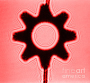 Aperture Prints - Fresnel Diffraction Pattern Print by Omikron