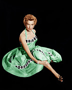 1950s Fashion Framed Prints - From Here To Eternity, Deborah Kerr Framed Print by Everett