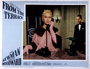 Talking Acrylic Prints - From The Terrace, Joanne Woodward, Paul Acrylic Print by Everett
