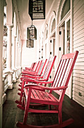 Front Porch Photo Framed Prints - Front Porch Framed Print by Kelly Wade