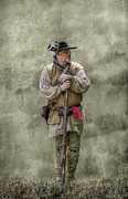Citizen Digital Art Prints - Frontiersman Portrait Print by Randy Steele