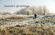 Christmas Card Photo Originals - Frosty Morning by John Chatterley