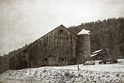 Tin Roof Prints - Frozen In Time  Print by John Stephens