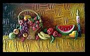 Featured Reliefs Originals - Fruit Painting by Shweta Mittal