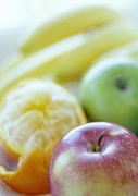 Food And Beverage Prints - Fruits Print by David Munns