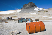 Old Objects Photos - Fuel Drums Abandoned By Miners And Left by Alan Majchrowicz