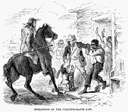 Fugitive Slave Act Prints - Fugitive Slave Act, 1850 Print by Granger