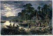Fugitive Slaves, 1864 Print by Granger