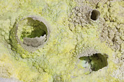 Fumarole Framed Prints - Fumarole Deposits In The Dallol Framed Print by Richard Roscoe