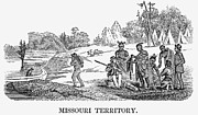 Destiny Prints - Fur Traders, 1853 Print by Granger