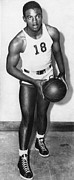 Ev-in Metal Prints - Future Brooklyn Dodger Jackie Robinson Metal Print by Everett