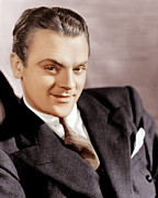 Pocket Square Prints - G-men, James Cagney, 1935 Print by Everett