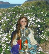 Pre-raphaelites Photo Metal Prints - Gabriella Elizabeth Rossetti Metal Print by Adrianne Wood