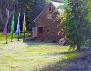 Gallery At Prallsville Mill Print by Kit Dalton