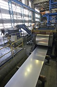 Finishing Photos - Galvanising Metal With Zinc by Ria Novosti