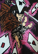 Xmen Paintings - Gambit by Kendle Sixx
