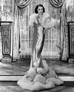 Full-length Portrait Prints - Gambling Lady, Barbara Stanwyck, 1934 Print by Everett