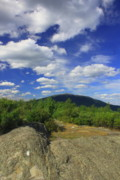 Gap Prints - Gap Mountain Mount Monadnock Print by John Burk